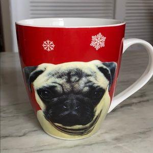 Pug Holiday Coffee Mug